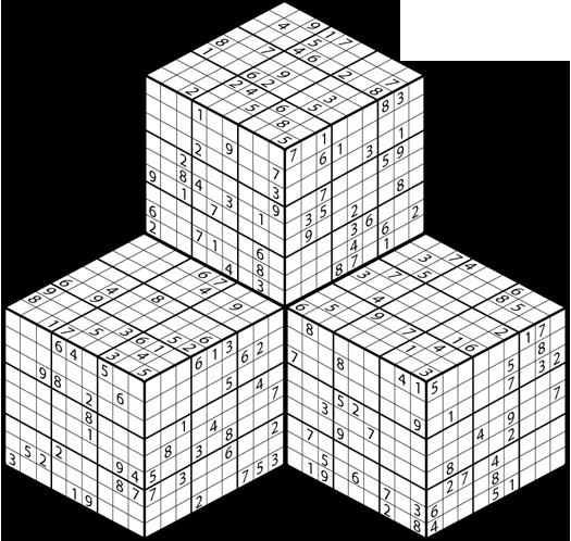 Sudoku 3D PDF